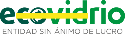 logo ecovidrio, reciclaje de vidrio